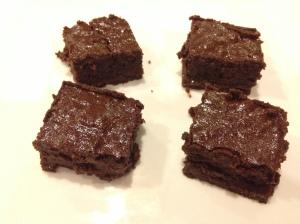 Decadent Salted Caramel Brownie Paleo #paleo #glutenfree via https://thereisnosecrettofit.wordpress.com/